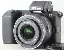 Nikon 1 V2 mirrorless digital SLR camera body bundled w. 10-30mm lens *black