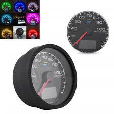 "2.5"" 7 Colors LCD Display Plastic Car Water Temperature With Voltage Meter Gauge"