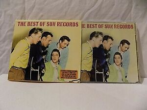 THE BEST OF SUN RECORDS X 2' CDs' - 50' GREAT ROCKIN' TRACKS - CARD COVER