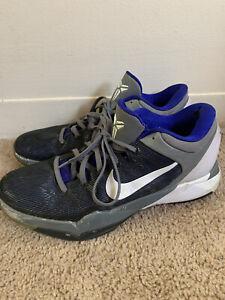 Nike Kobe VII 7 System Shoes Mens Sz 12 Concord 488371-402 Lakers