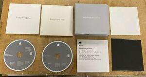 Apple MacBook 13-inch Late 2008 Original Software Packet