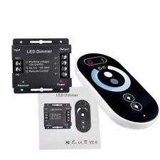 LED Touch RF-Fernbedienung LED Strip Dimmer Steuerung Regler Kontroller DC12-24V