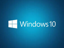 Microsoft Windows 10 Pro 32/64 Bit Product-Key für 5 PC's + Installations DVD