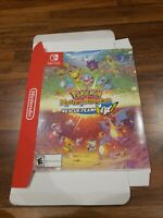 Pokemon Mystery Dungeon Rescue Team DX Gamestop Box Poster Promo