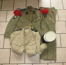 Belle tenue d' un Légionnaire du 1er Etranger de Cavalerie, années 70, complète.