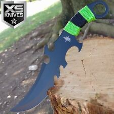 "ZOMBIE HUNTER 9"" TACTICAL SURVIVAL Fixed Blade Hunting Knife BOWIE DAGGER"