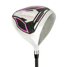 "Powerbilt Golf TPS Supertech White/Pink 12º Lady Driver 44""- Right Handed - NEW!"