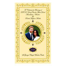 Official Memorabilia Prince Harry and Meghan 2018 Royal Wedding Merchandise Gift Tea Towel 16608
