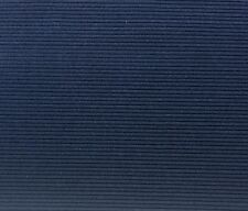 "UNIKA VAEV COUP FOURRE WAVE DARK BLUE CORDUROY STRIPE VELVET FABRIC 3 YARDS 54""W"
