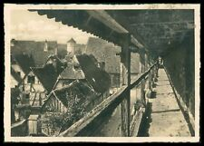 Ak Rothenburg Ob Der Tauber Alte Ansichtskarte Foto-ak Postcard Cx52 Architektur