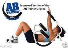 AB Trainer Pro White Abdominal Exercise Roller FREESHIP