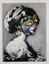 "SANDRA CHEVRIER & MARTIN WHATSON - ""PEACE"" - LTD ED 20 - 111CM X 85CM"