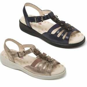 Padders Plus Women/'s Sandal /'Horizon/'Super Wide EEEE FitFree UK Returns