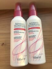 2 AVON Advanced Techniques `Protect It` Heat protection Styler Spray 100ml New