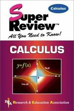 Calculus by Research and Education Association Editors (2000, Paperback)