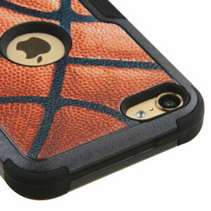 iPod Touch 5th 6th 7th Generation - Basketball Armor Hybrid Shockproof Case Skin