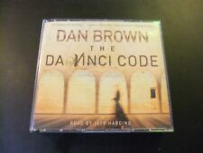 Dan Brown The Da Vinci Code 5 x CD Audiobook  Read By Jeff Harding