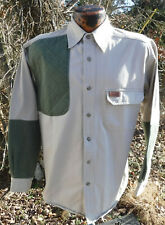Woolrich 5561WT Mens M Cotton Shooting Shirt Field Hunting Outdoor Guide