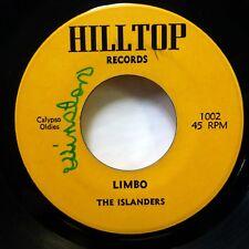 ISLANDERS 45 Talking Parrot / Limbo HILLTOP Calypso c1180