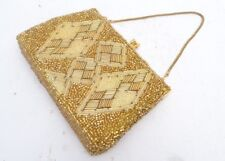 Gorgeous Genuine Vintage 50s /60s Heavily Beaded Evening Bag
