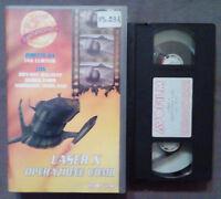 VHS FILM Ita Fantascienza LASER X Operazione Uomo avo film ex nolo no dvd (V46)