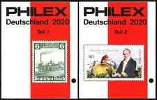 PHILEX Katalog Deutschland Teil 1+2 2020 - in Farbe. NEU!!! Sofort Lieferbar!!!