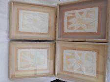 FIGI GRAPHICS HAND CAST PAPER ART [ LOT OF 4] ARTIST