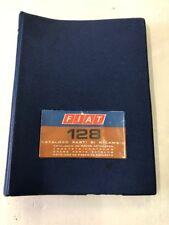 Catalogo Parti Di Ricambio FIAT 128 Originale