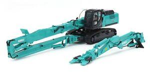 Kobelco SK400DLC-10 Demolition Excavator - Motorart 1:50 Scale Model #1192 New!