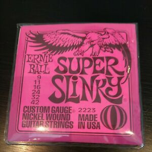 Ernie Ball Super Slinky Nickel 11-42 guitar strings