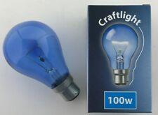 2x Crompton 100W BC B22 Craft Light Daylight 100 Watt CRA100BCS 750 lm