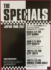 THE SPECIALS 2017 JAPANESE TOUR ORIGINAL CHIRASHI MINI POSTER