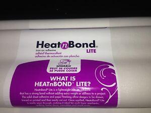 Heat n Bond  Lite For Applique, Bonding Fabrics, Crafts 1 METRE - Free Postage