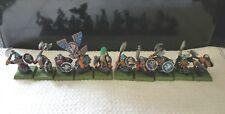 Warhammer FB, Citadel, A.O.S. Clásico enano libios x10 plástico bien pintados