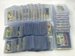 T206 Lot of (110+) Cards w/ Some RARE Backs Polar Bear, Sovereign (1) BVG Graded