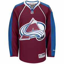 NEW - REEBOK NHL Men's 'COLORADO AVALANCHE' Red/Black OFFICIAL JERSEY - L