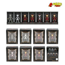 Beast Kingdom Mini Egg Attack MEA-015 Iron Man 3 Hall of Armor Set (LIGHTS UP!!)