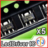 5x PT4115 Integrato Driver Led PWM Dimmerabile Constant Current SMD