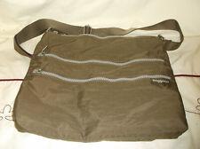 Baggallini Taup Adjustable Zippered Crossbody Bag Purse Medium