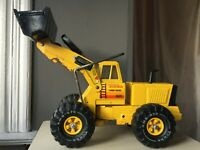 Vintage Tonka Front Loader Mighty Turbo Diesel XMB-975 1980s Yellow 54240