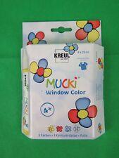 KREUL Window Color Pen Mucki 4er-set GRP 5 /100ml