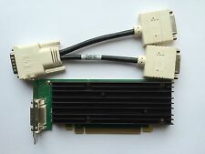 SFF HP 454319-001 456137-001 NVIDIA NVS 290 P538 256MB PCIE WIN 8 & DVI SPLITTER