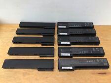 LOT OF 10 Genuine Battery HP EliteBook 8460p 8460w 8470p 8470w 628666-001