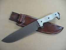 Busse Combat Knife Company ASH 2 Custom Molded Leather Knife Sheath BROWN