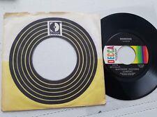 "MATTHEWS SOUTHERN COMFORT - Woodstock / Ballad Of Obray Ramsey 1971 FOLK ROCK 7"""