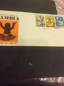 #1F Zambia.FDC 1970 Preventive Medicine Zambia