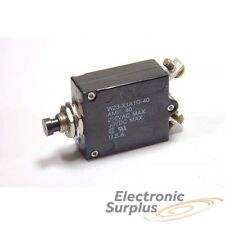 TYCO/P&B - W23-X1A1G-40 - Circuit breaker