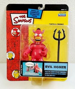 2004 The Simpsons Series 16 World of Springfield Evil Homer Interactive Figure