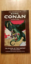 KING CONAN VOLUME 9 THE BLOOD OF THE SERPENT~ DARKHORSE TPB NEW