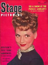 """Judy Holliday """"BORN YESTERDAY"""" Pearl Bailey / Ray Bolger 1946 """"STAGE"""" Pictorial"""